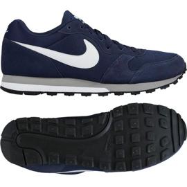 Czarne Buty biegowe Nike Md Runner 2 M 749794-410