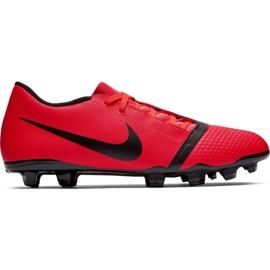 Buty piłkarskie Nike Phantom Venom Club Fg M AO0577-600 czerwone czerwone