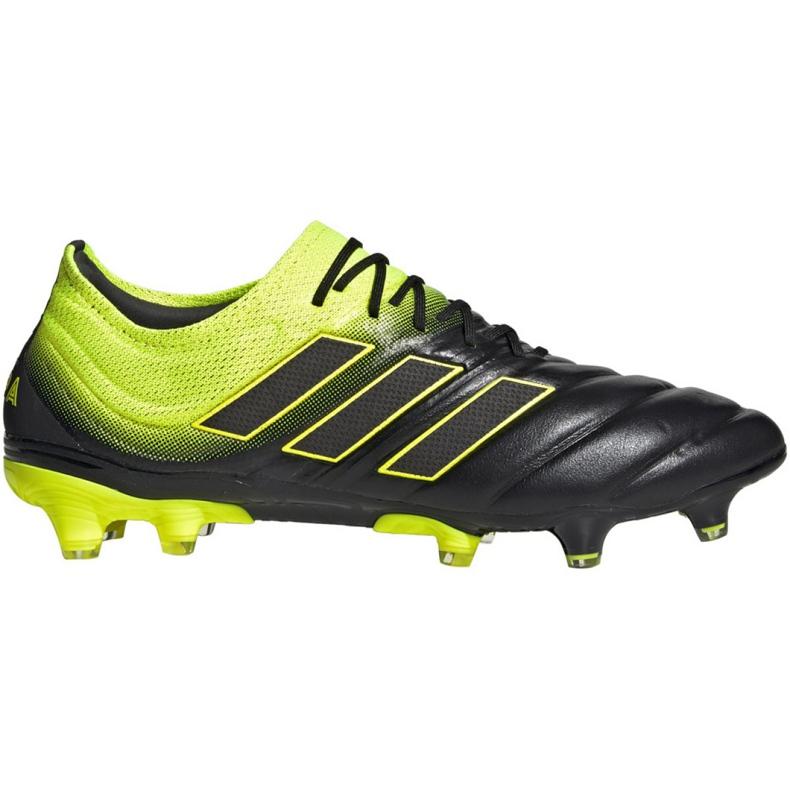 Buty piłkarskie adidas Copa 19.1 Fg M BB8088 szare wielokolorowe