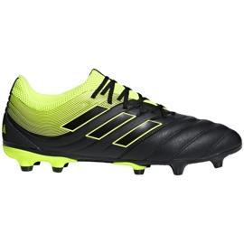 Buty piłkarskie adidas Copa 19.3 Fg M BB8090 szare wielokolorowe