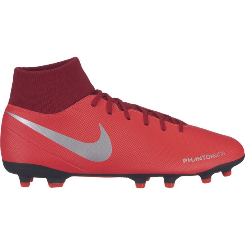 Buty piłkarskie Nike Phantom Vsn Club Df FG/MG M AJ6959-600 czerwone wielokolorowe