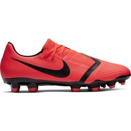Buty piłkarskie Nike Phantom Venom Academy Fg M AO0566-600 czerwone wielokolorowe