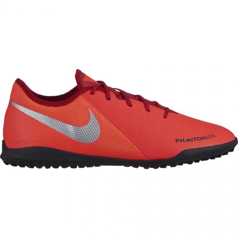 Buty piłkarskie Nike Phantom Vsn Academy Tf M AO3223-600 czerwone wielokolorowe