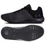 Czarne Buty biegowe Ua Micro G M 3000011-104
