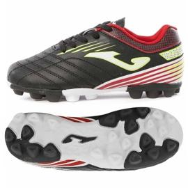 Buty piłkarskie Joma Toledo 901 Fg Jr TOLJS.901.24 czarne wielokolorowe
