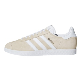Brązowe Buty adidas Originals Gazelle W B41646