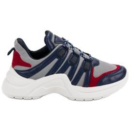 Kylie Wygodne Buty Sportowe niebieskie