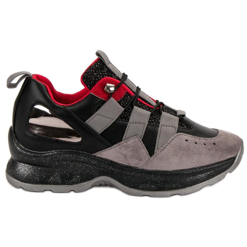 Lekkie Sneakersy VICES czarne
