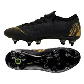 Buty piłkarskie Nike Mercurial Vapor 12 Elite Sg Pro Ac M AH7381-077 czarne czarne