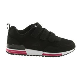 Buty sportowe wkładka skóra American Club 5 czarne