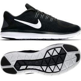 Czarne Buty biegowe Nike Flex 2017 Rn M 898457-001