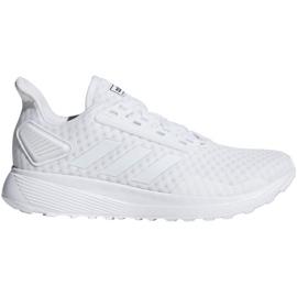 Białe Buty biegowe adidas Duramo 9 W F34772