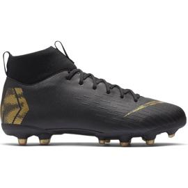 Buty piłkarskie Nike Mercurial Superfly 6 Academy Mg Jr AH7337-077 wielokolorowe czarne