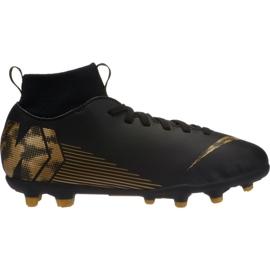 Buty piłkarskie Nike Mercurial Superfly 6 Club Mg Jr AH7339-077 czarne wielokolorowe