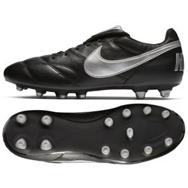 Buty piłkarskie Nike The Premier Ii Fg M 917803-011 czarne czarne