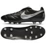 Buty piłkarskie Nike The Premier Ii Fg M 917803-011 czarne czarny