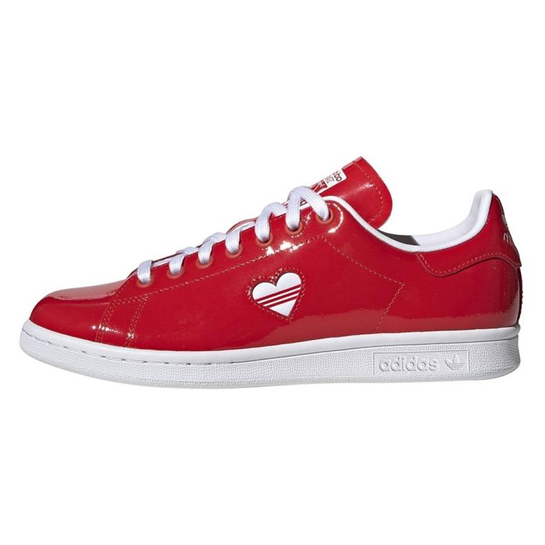 Buty adidas Originals Stan Smith W G28136 czerwone