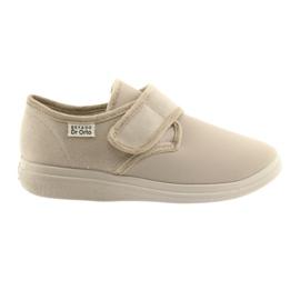 Befado obuwie damskie pu 036D024 brązowe