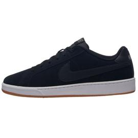 Czarne Buty Nike Court Royale Suede M 819802-013