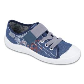 Niebieskie Befado obuwie dziecięce 251Y116