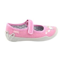 Różowe Befado obuwie dziecięce 114X330