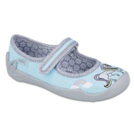 Befado obuwie dziecięce 114X331 niebieskie