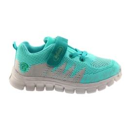 Befado obuwie dziecięce do 23 cm 516X027 szare zielone