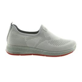 Buty Sportowe szare wsuwane DK SA089