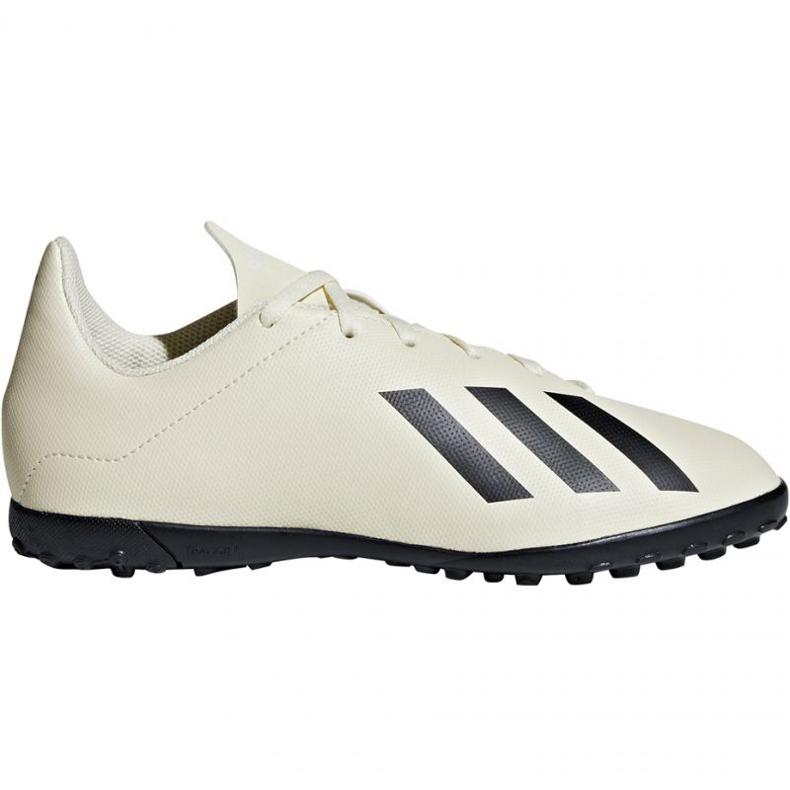Buty piłkarskie adidas X Tango 18.4 Tf Jr DB2436 białe wielokolorowe