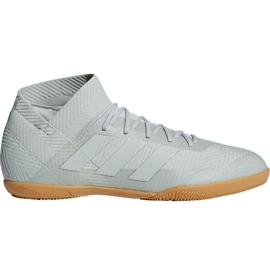 Buty halowe adidas Nemeziz Tango 18.3 In M DB2197 białe wielokolorowe