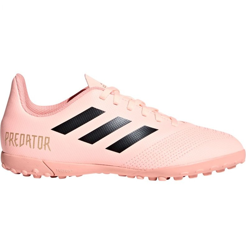 Buty piłkarskie adidas Predator Tango 18.4 Tf Jr DB2339 różowe różowy