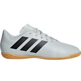 Buty halowe adidas Nemeziz Tango 18.4 In Jr DB2383 białe czarny, biały