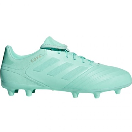 Buty piłkarskie adidas Copa 18.3 Fg M DB2462 niebieski niebieskie
