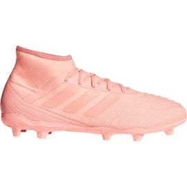 Buty piłkarskie adidas Predator 18.2 FG M DB1998 różowe