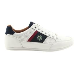 Buty Sportowe męskie Mckey 901 białe