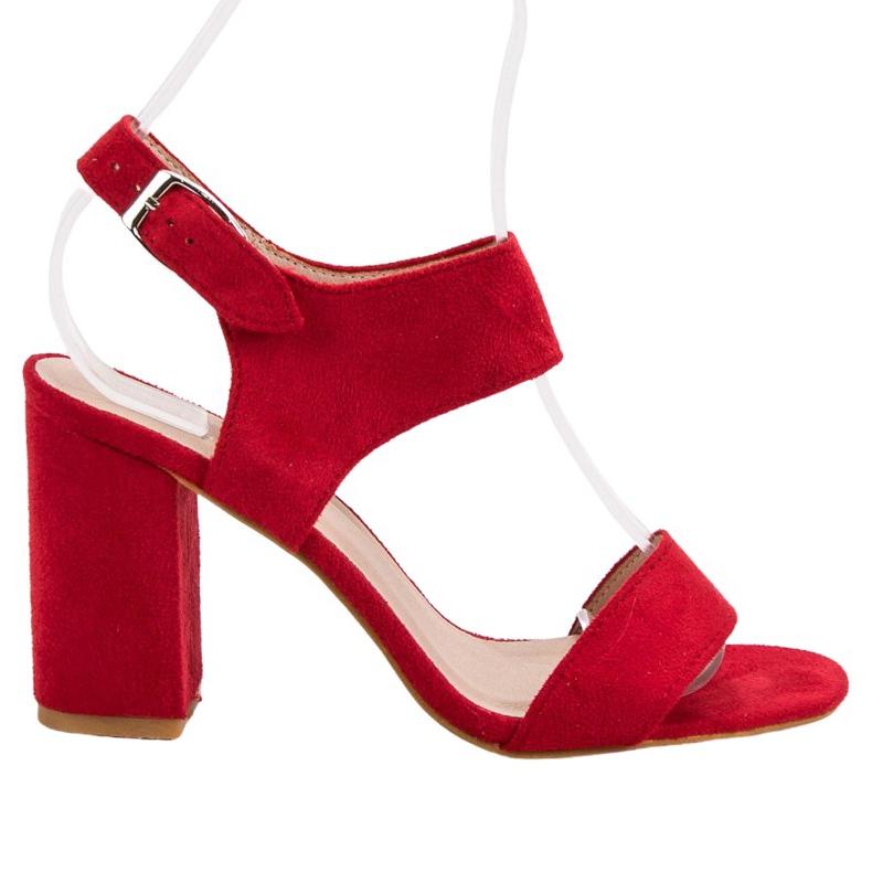 Czerwone Sandały VINCEZA