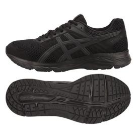 Czarne Buty biegowe Asics Gel Contend 5 M 1011A256-002