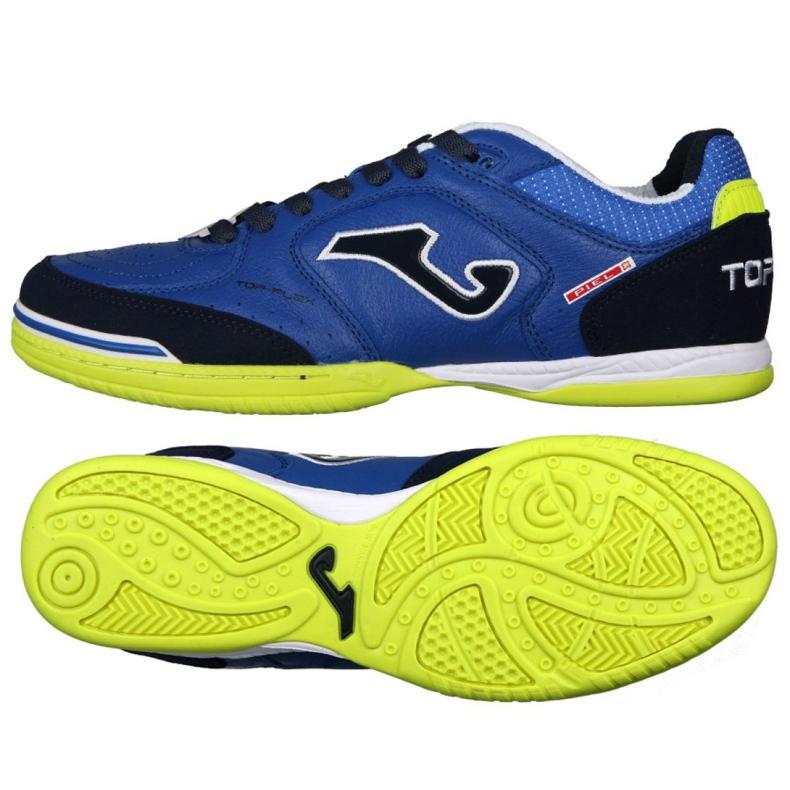 Buty halowe Joma Top Flex 804 In M J10012001.804.IN niebieskie niebieski