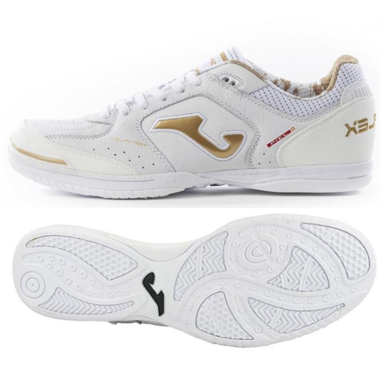 Buty halowe Joma Top Flex 902 In M TOPS.902.IN białe białe