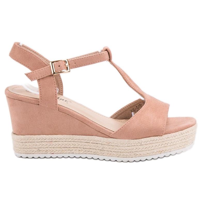Seastar Różowe Sandały Espadryle