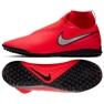 Buty piłkarskie Nike React Phantom Vsn Pro Df Tf M AO3277-600 czerwony czerwone
