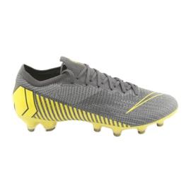 Buty piłkarskie Nike Mercurial Vapor 12 Elite Ag Pro M AH7379-070 szare szare