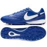 Buty piłkarskie Nike Tiempo Lunar LegendX 7 Pro 10R Tf M AQ2212-410 niebieski niebieskie