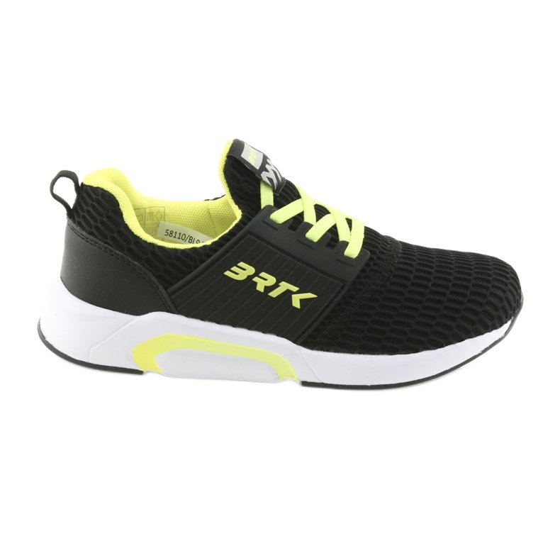 Bartek 58110 Buty sportowe wsuwane czarne żółte