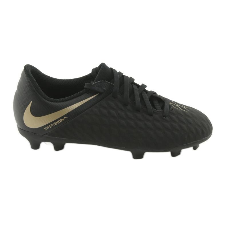 Buty piłkarskie Nike Hypervenom Phantom 3Club FG Jr AJ4146-090 czarne