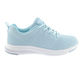 Sportowe dziewczęce American Club HA07 blue niebieskie