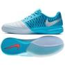 Buty halowe Nike Lunargato Ii Ic M 580456-404 biały, niebieski niebieskie