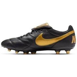 Buty piłkarskie Nike The Nike Premier Ii Fg M 917803-077 czarne czarne