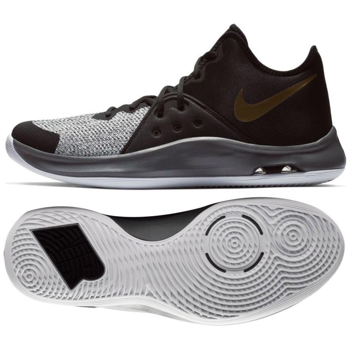 nowy haj wybór premium wykwintny styl Buty koszykarskie Nike Air Versitile Iii M AO4430-005 czarny czarne