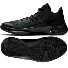 Buty koszykarskie Nike Air Versitile Iii M AO4430-002 czarny czarne